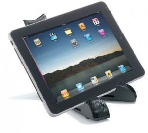 Wiz BX7 - Portable Stand & Sound System for tablets & iPads